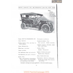 Isotta Fraschine 35 1907 Fiche Info 1907