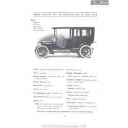 Isotta Fraschini 50 65 1907 Fiche Info 1907