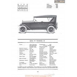 King 8 Touring H Fiche Info 1920