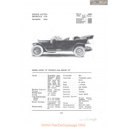 Knox S Touring Series B Fiche Info 1912