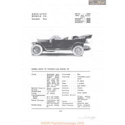 Knox S Touring Series B Fiche Info 1912