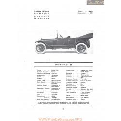 Lozier Six 82 Fiche Info 1917