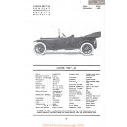 Lozier Six 82 Fiche Info Mc Clures 1917