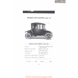 Milburn Light Electric Coupe 15 Fiche Info 1916 V2