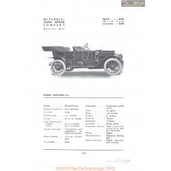 Mitchell 5 4 Fiche Info 1912
