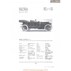Mitchell 5 6 Fiche Info 1912