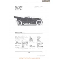 Mitchell 7 6 Fiche Info 1912