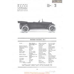 Monroe Touring M 6 Fiche Info 1918