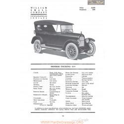Monroe Touring S9 Fiche Info 1920