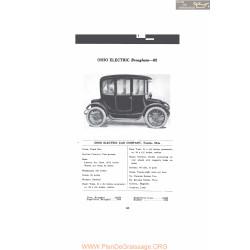 Ohio Electric Brougham 62 Fiche Info Mc Clures 1916