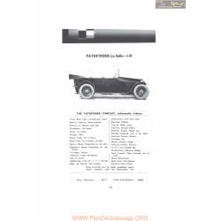 Pathfinder La Salle 1b Fiche Info Mc Clures 1916