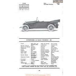 Pathfinder La Salle Touring 2b Fiche Info Mc Clures 1917
