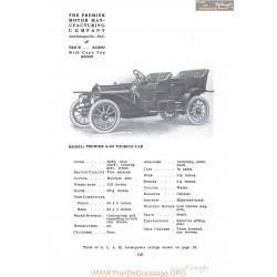 Premier 4 40 Turing Fiche Info 1910