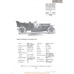 Premier 6 60 Touring Fiche Info 1910