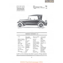 Premier Foursome 6c Fiche Info 1919
