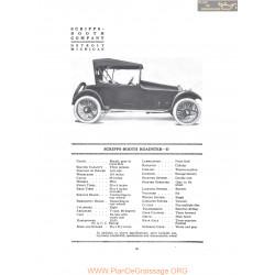 Scripps Booth Roadster D Fiche Info 1916