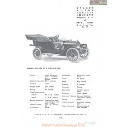 Selden 35 T Touring Fiche Info 1910
