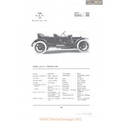 Sgv 25hp Touring Fiche Info 1912
