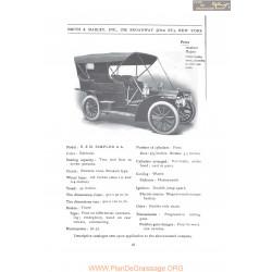 Simplex Aa Fiche Info 1907