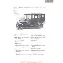 Simplex Da Fiche Info 1907