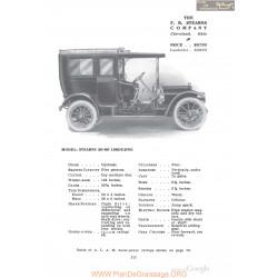 Stearns 30 60 Limousine Fiche Info 1910