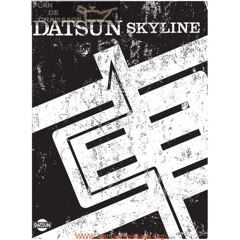 Datsun Nissan Skyline C210 Service Manual