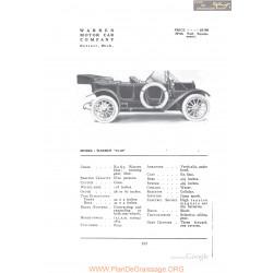 Warren 12 40 Fiche Info 1912