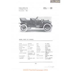 White 30 Touring Fiche Info 1912