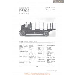 Alden Sampson Five Ton Truck Fiche Info 1912