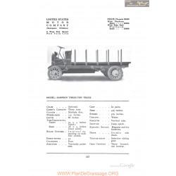 Alden Sampson Threee Truck Fiche Info 1912