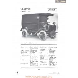 Autocar Truck Xxi Combi Fiche Info 1912