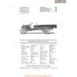 Commerce One Ton Truck Ea Fiche Info 1919