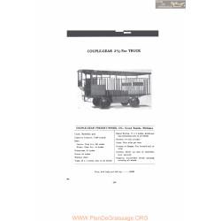 Couple Gear 1 5 Ton Truck Fiche Info 1916