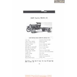 Dart Two Ton Truck Cc Fiche Info 1916