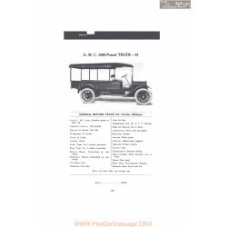 Gmc 1500 Pound Truck 15 Fiche Info Mc Clures 1916