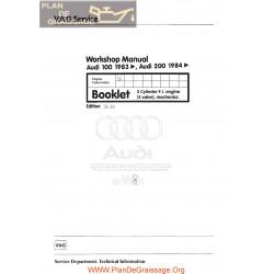 Audi 100 200 1983 1984 3b Engine Mech