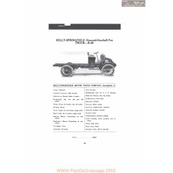 Kelly Springfield One And One Half Ton Truck K30 Fiche Info Mc Clures 1916
