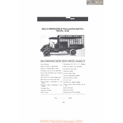 Kelly Springfield Three And One Half Ton Truck K40 Fiche Info Mc Clures 1916
