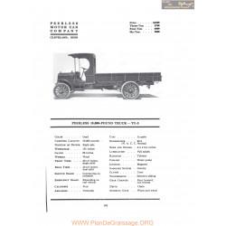 Peerless 10000 Pound Truck Tc5 Fiche Info 1917