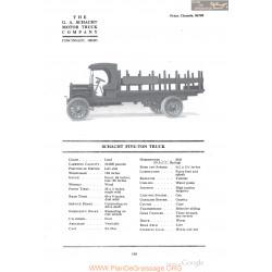 Schacht Five Ton Truck Fiche Info 1918