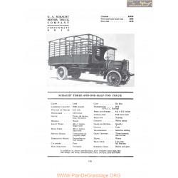 Schacht Three And One Half Ton Truck Fiche Info 1919