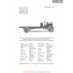 Selden Three And One Half Ton Truck N Fiche Info 1916