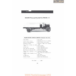 Selden Three And One Half Ton Truck N Fiche Info Mc Clures 1916