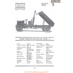 Selden Three And One Half Ton Truck N Fiche Info Mc Clures 1917