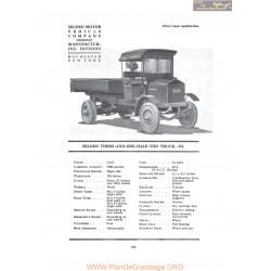 Selden Three And One Half Ton Truck Nl Fiche Info 1919