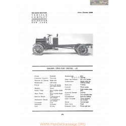 Selden Two Ton Truck Jc Fiche Info 1917