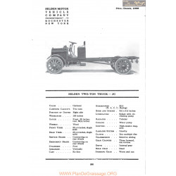 Selden Two Ton Truck Jc Fiche Info Mc Clures 1917