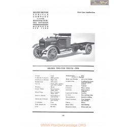 Selden Two Ton Truck Jwb Fiche Info 1919
