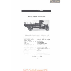 Selden Two Ton Truck Jwl Fiche Info Mc Clures 1916