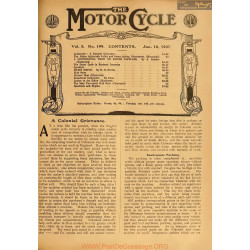 The Motor Cycle 1907 01 January 16 Vol05 N0199 A Colonial Grievance